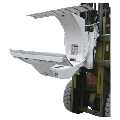 3 टन डीजल फोर्कलिफ्ट ट्रक को पेपर रोल क्लैम्प्स अटैचमेंट के साथ