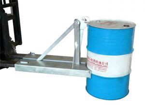 प्रकार BGN-1 55 गैलन स्टेनलेस स्टील फोर्कलिफ्ट ड्रम हैंडलर